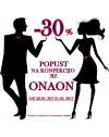 AKCIJA - 30% ONAON