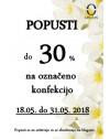MAJSKI POPUST 2018